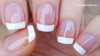 Download 5 Ways To Make FRENCH MANICURE NAIL ART / DIY Ideas Mp3 and Videos