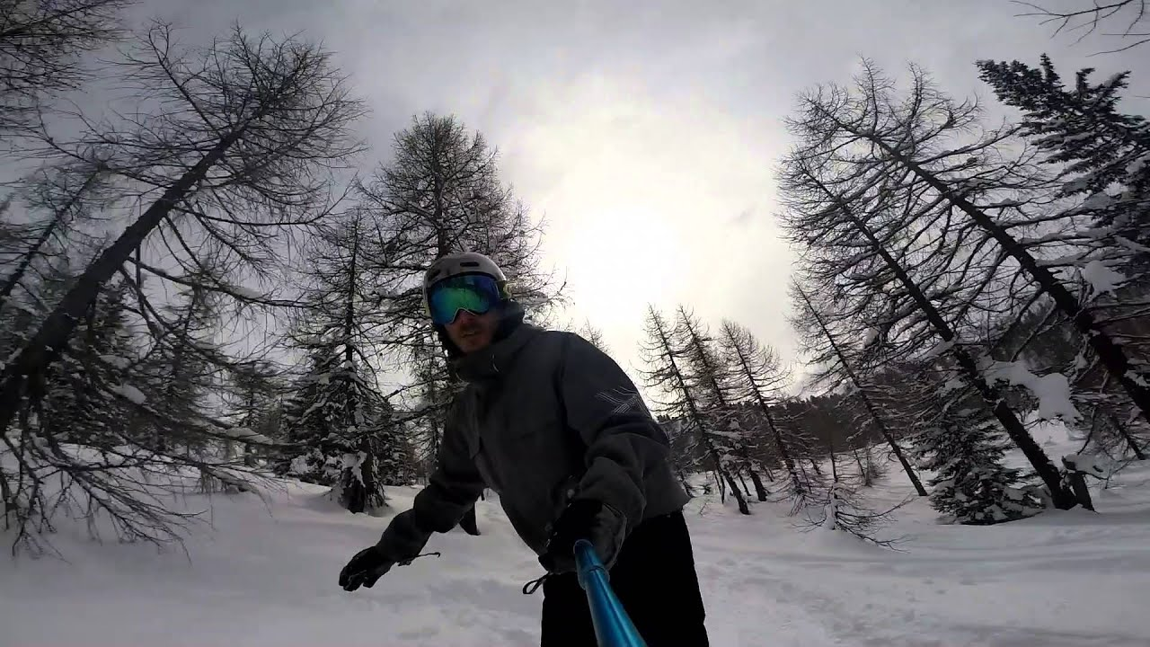 Lithuania as-well snowboarding and ofroading in madonna di campiglio italy 2016 gopro hero3