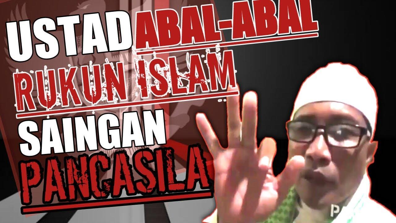 Virall ustad sesat  Rukun islam adalah saingan pancasila   YouTube