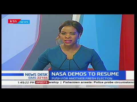 Head NASA Secretariat, Norman Magaya: NASA demos in Nairobi to push for fresh election