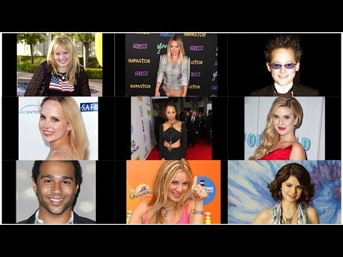 Disney Channel Stars Then and Now |Universal Media Tube