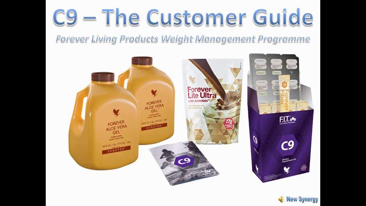 C9 The Customer Guide for Weight Management with Forever ...