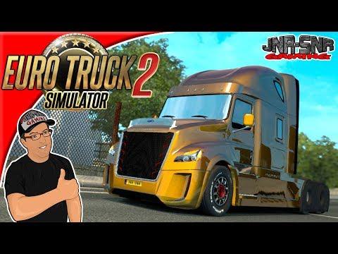 Euro Truck Simulator 2 Daimler Freightliner Inspiration Mod Review