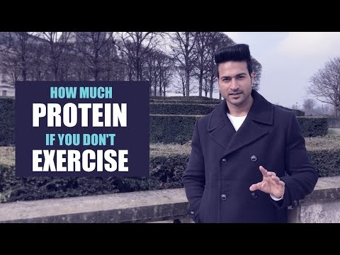 How much PROTEIN a day if you do not EXERCISE | Info by Guru Mann