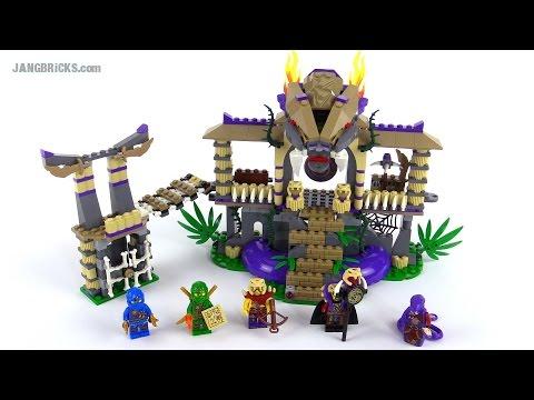 Lego Ninjago Enter The Serpent Review Set 70749 Youtube