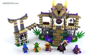 Lego Ninjago Enter The Serpent Review! Set 70749