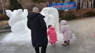 2020 제5차 찾아가는 눈조각전 - 롯데마트 검단 (…