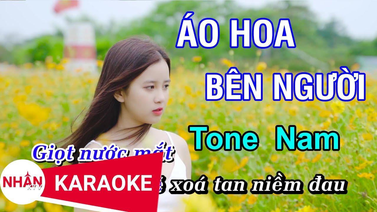 Áo Hoa Bên Người (Karaoke Beat) - Tone Nam