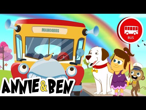 The Wheels on the Bus Kids Songs with Annie & Ben   Nursery Rhymes Collection for Children