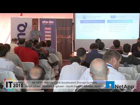 NetApp Flash Accelerated Storage Systems - NetApp - IT Congress 2015