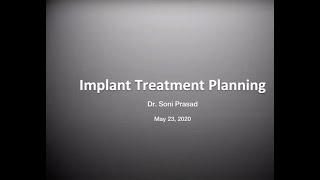 Implant Treatment Planning By Dr Soni Prasad