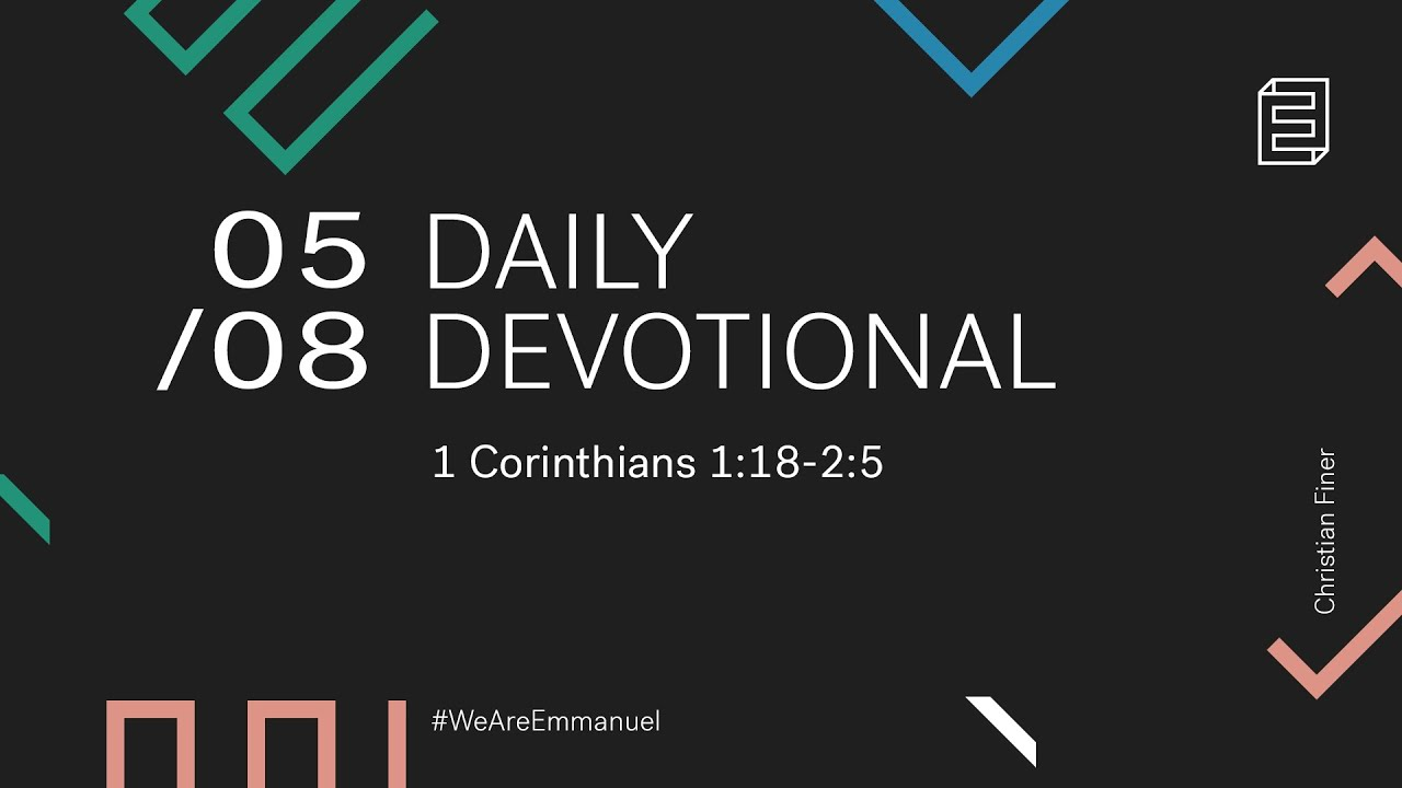 Daily Devotional with Christian Finer // 1 Corinthians 1:26-31 Cover Image