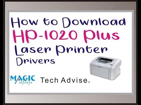HP 1020plus  Printer  Driver Download In Hindi    Tech Adviser