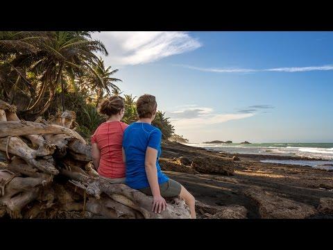 Exploring A Black Sand Beach in Puerto Rico: Travel Vlog