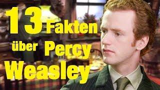 13 FAKTEN über Percy WEASLEY