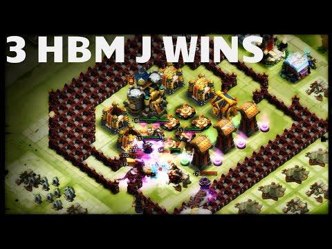 3 Here Be Monsters J Wins - Castle Clash D142