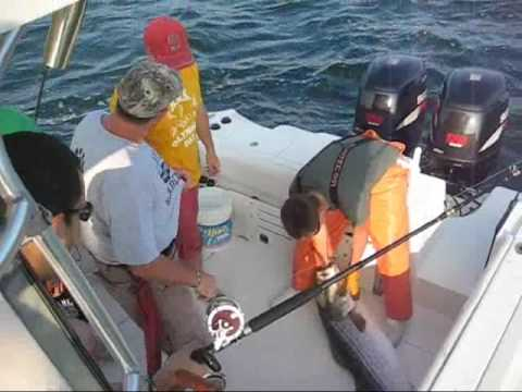 Striper Fishing CT 2009 Kingfisher Charters