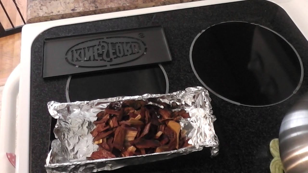 Wood Chip Uses ~ How to use a wood chip smoker box youtube