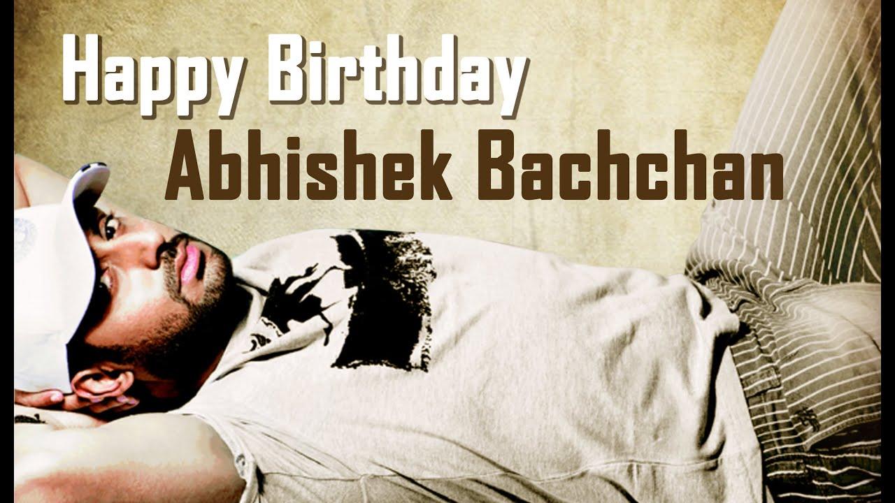 Happy Birthday Amitabh Bachchan Quotes: Happy Birthday Abhishek Bachchan [special Wishes From FCs