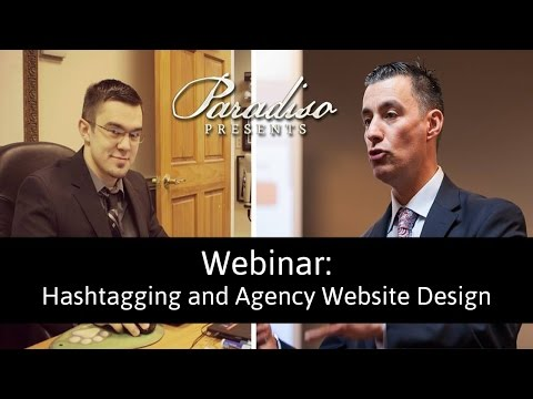 Paradiso Presents Webinar on Hashtagging and Agency Websites
