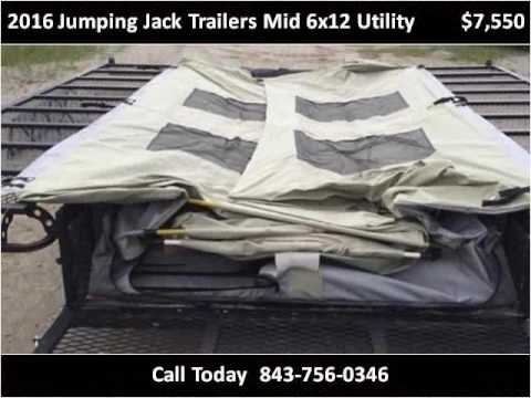 2016 Jumping Jack Trailers Mid 6x12 Utility New Cars Loris S
