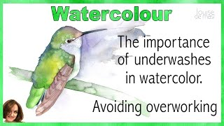 The Importance of Initial Washes in Watercolor // Avoiding Overworking