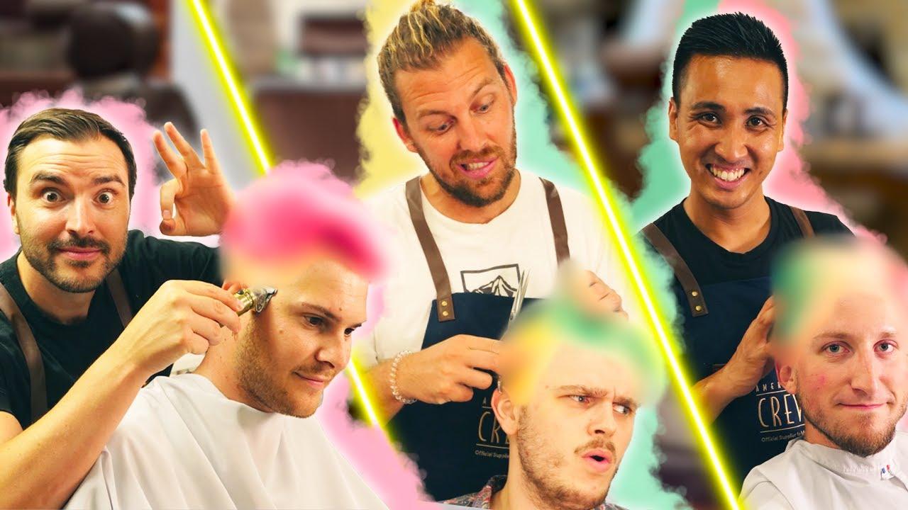 On coupe les cheveux à des inconnus (et on leur fait une teinture)