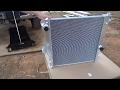 Ram 2500 5.9 Cummins all aluminum radiator replace