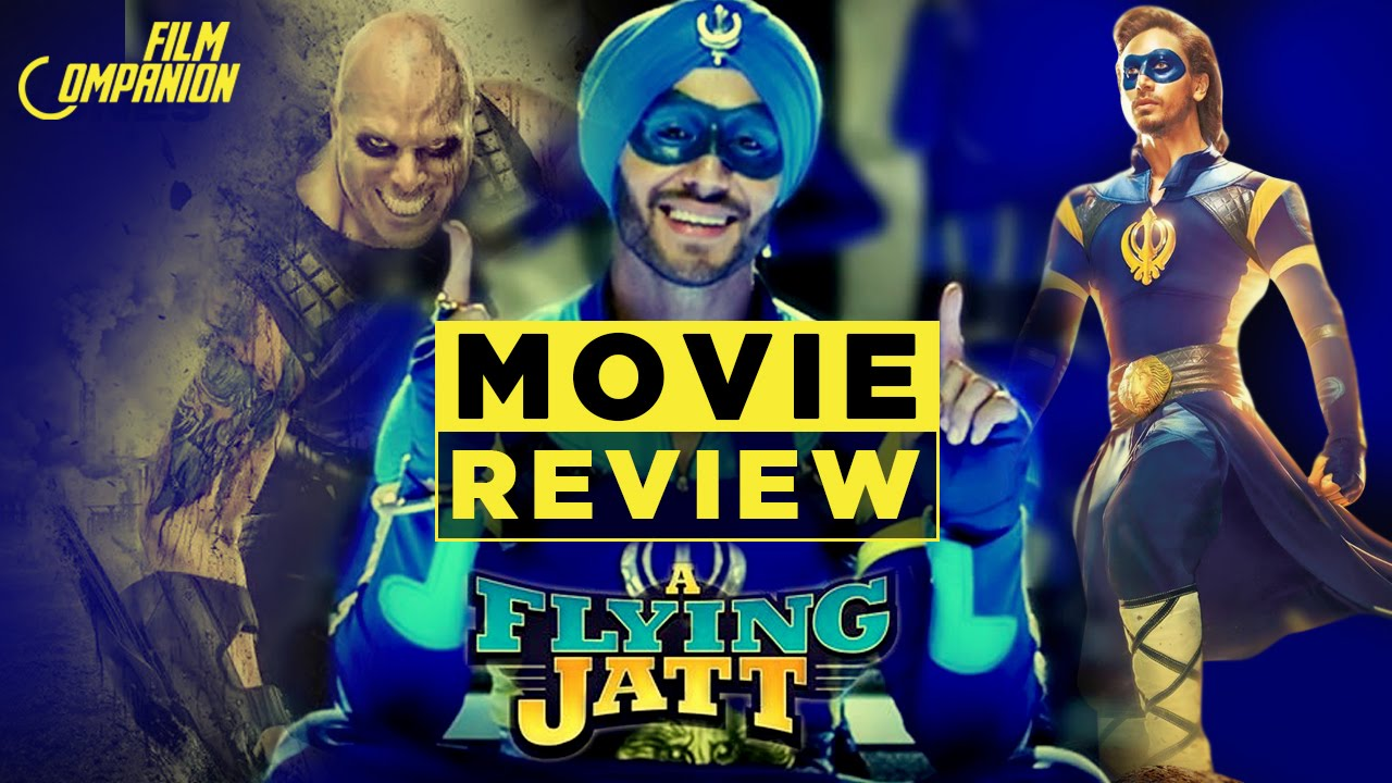 A Flying Jatt Movie Review Anupama Chopra Youtube