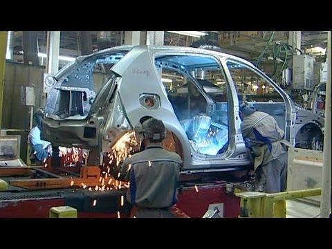 Dacia Production At The Pitesti Plant, Romania (2008)