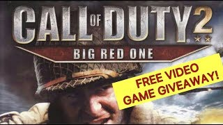 * FREE * Video Game Giveaway | Call of Duty 2: Big Red One for PS2 | With Run Race 3D Video