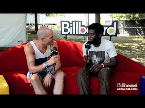 Michael Kiwanuka Backstage Q&A @ Lollapalooza 2012