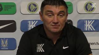 Руслан Костишин: «Глядачі побачили хороший футбол»
