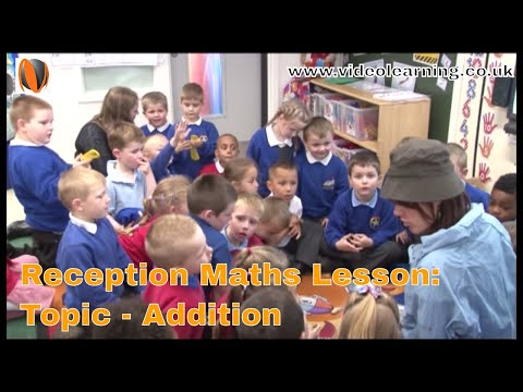 Reception Maths Classroom Observation - topic: Addition