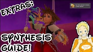 Kingdom Hearts HD 1.5 ReMix | Synthesis Guide | How to Get Ultima Weapon!