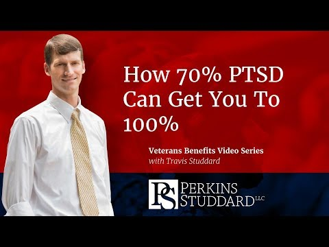 How a 70% VA PTSD Rating Can Get You To 100%