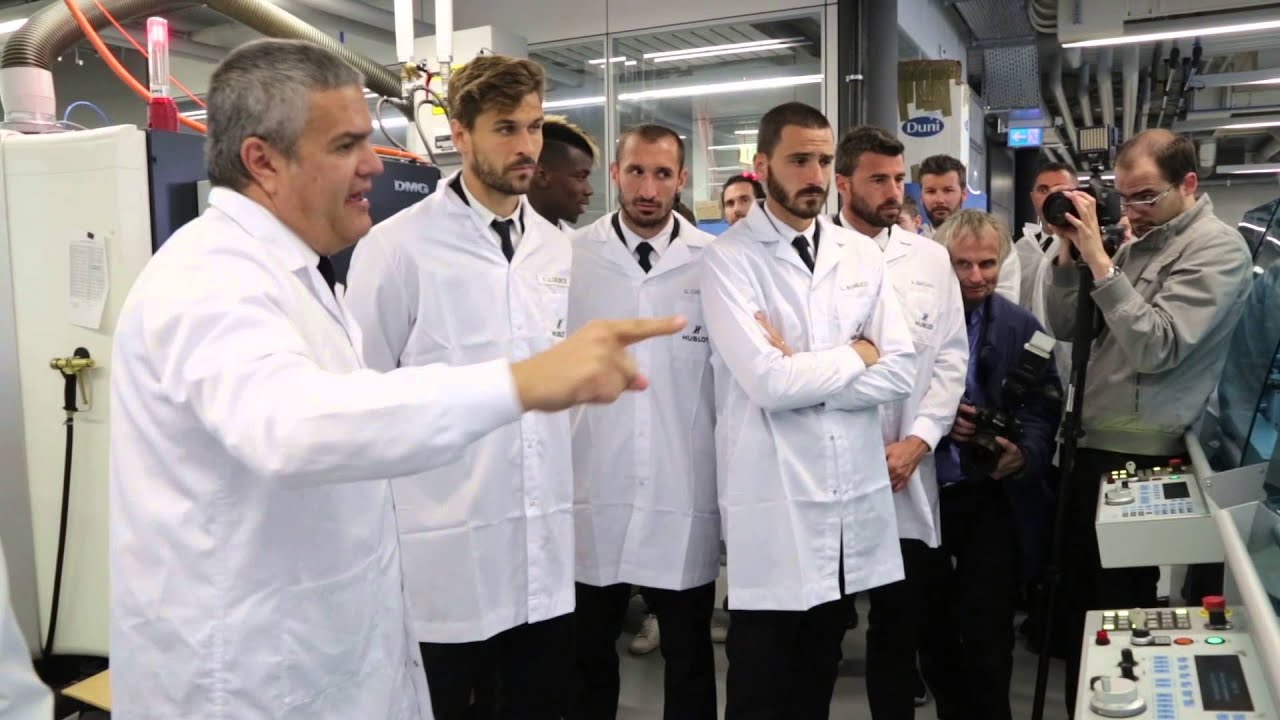 UEFA Champions League™ finalists pay a visit to Hublot
