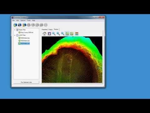 GeoExpress 9.5: Lidar!