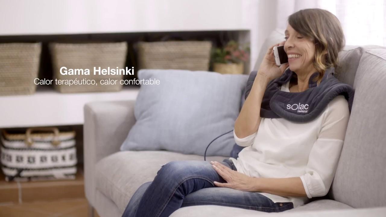 Almohadilla eléctrica para cervicales y hombros Helsinki de Solac