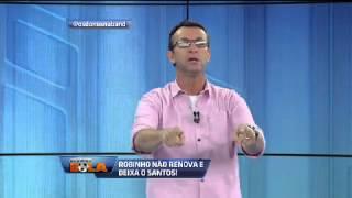 Os donos da bola-Neto critica Robinho apos a saida do Santos