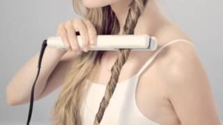видео Прически с помощью утюжка