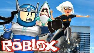 Roblox Battle - Reyson vs Barbie Géante !