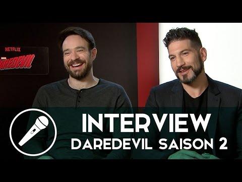 « Daredevil » saison 2 racontée par Charlie Cox, Jon Bernthal et Élodie Yung !