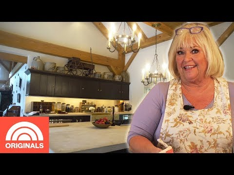 Food Network's Nancy Fuller Shows Us Her Rustic 17th Century Kitchen   Crazy Kitchens   TODAY
