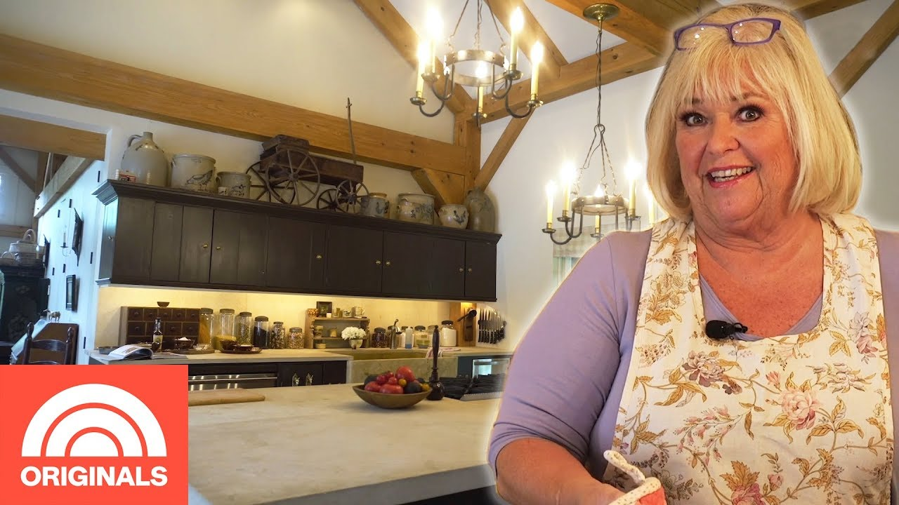 Food Network S Nancy Fuller Shows Us Her Rustic 17th Century Kitchen Crazy Kitchens Today