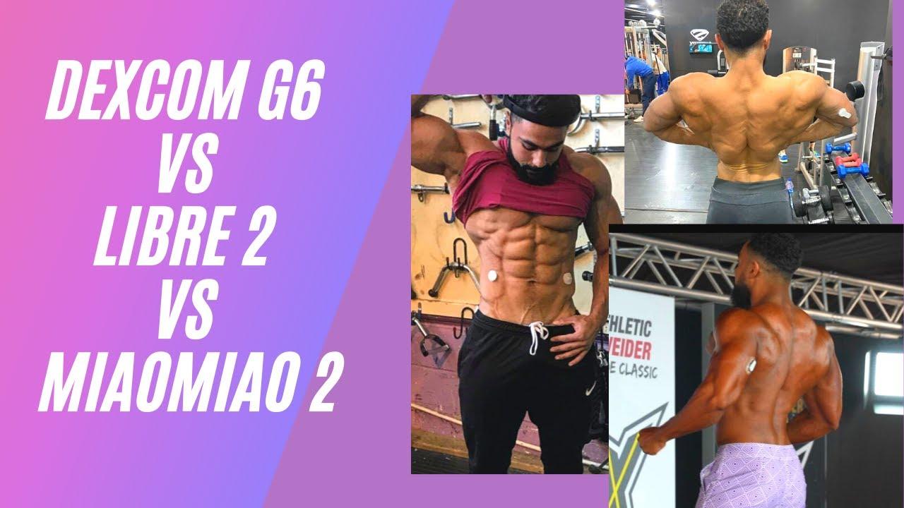 DEXCOM G6 vs LIBRE 2 vs MIAOMIAO 2 vs BLOOD GLUCOSE MONITOR