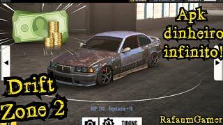 SAIU!! DRIFT ZONE 2 APK COM DINHEIRO INFINITO PARA ANDROID (ATUALIZADO)