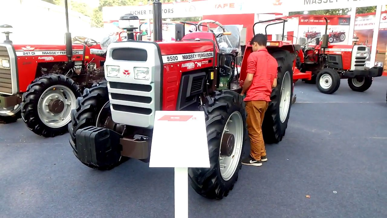Massey ferguson 9500 4X4 tractor full feature & specification in hindi