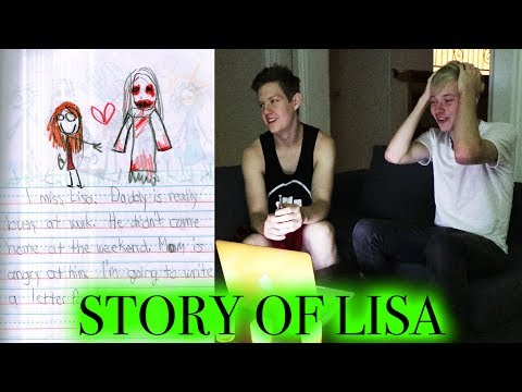 CREEPIEST CHILDREN'S DRAWINGS | Story Of Lisa (scary)