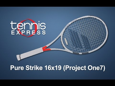 69f39894d Babolat Pure Strike 16x19 (Project One7) Tennis Racquet Review ...